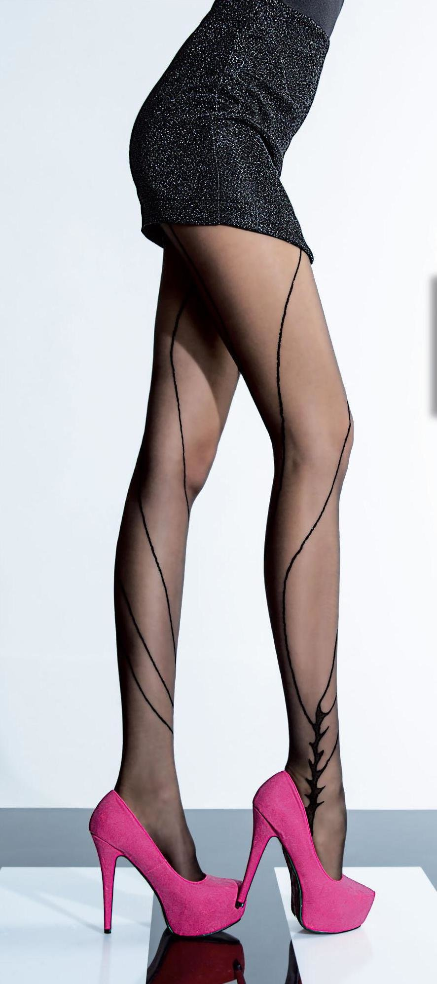 Fiore: Sexy Journey Patterned Tights FIO_TAMISA