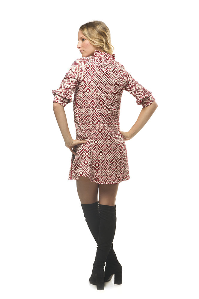 Savage Culture: Firebird Fit & Flare Nelia Dress