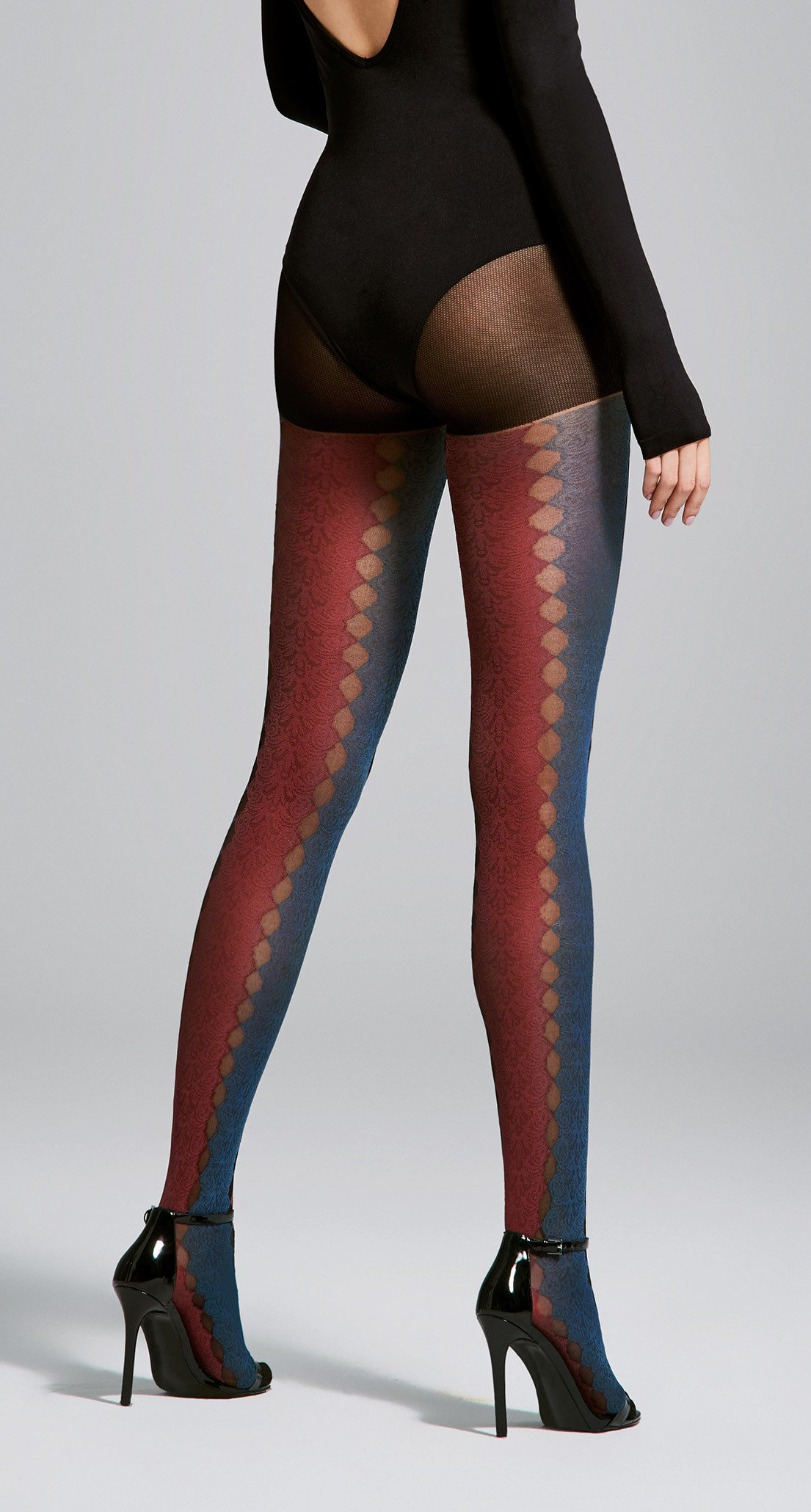 Fiore: Sexy Sunset Sunrise Semi-Opaque Tights FIO_JOURNEY_N