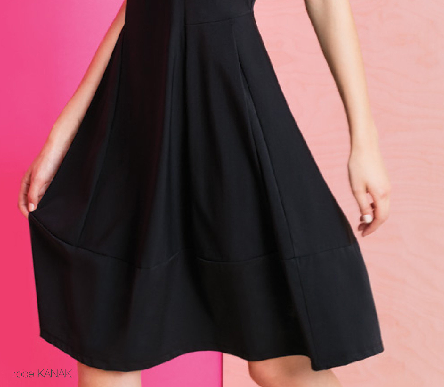 Maloka: Flirty Boxed Bodice Fit & Flare Dress (1 Left!)
