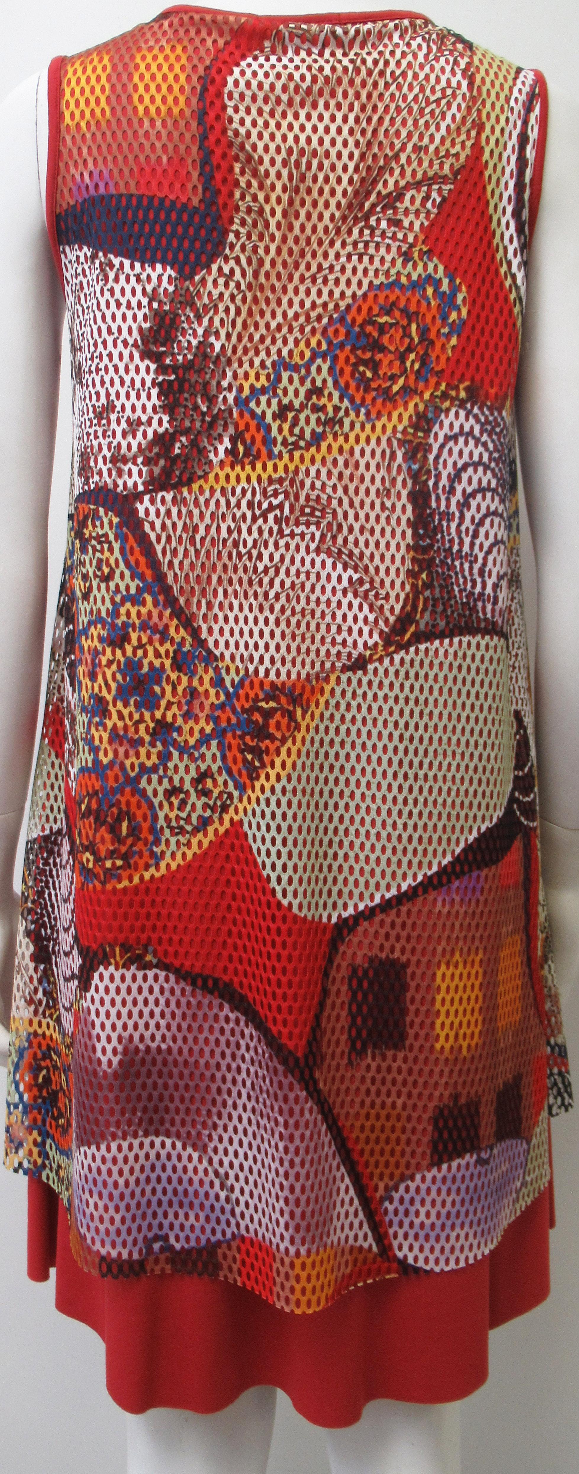Maloka: Puzzle Pieces Abstract Art Midi Dress (2 Left!)