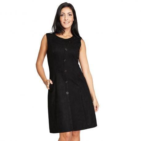 S'Quise Paris: Swivel Buttoned Caprice Pocket Dress SQ_2113