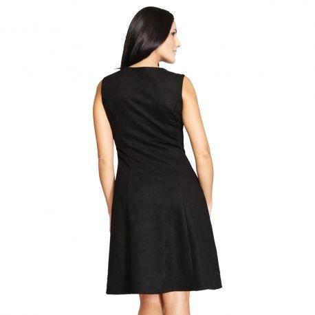 S'Quise Paris: Swivel Buttoned Caprice Pocket Dress