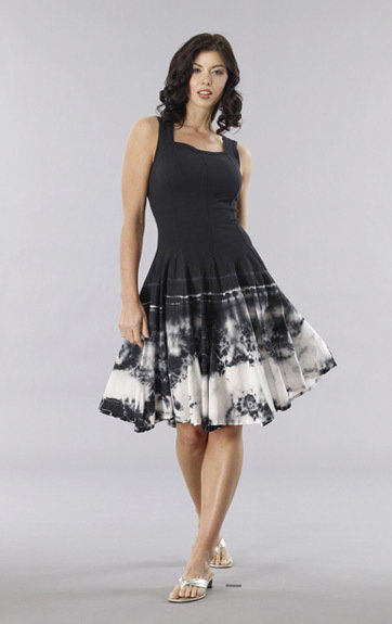 Luna Luz: Shibori Tie Dye Tank Dress SOLD OUT LL_5533O