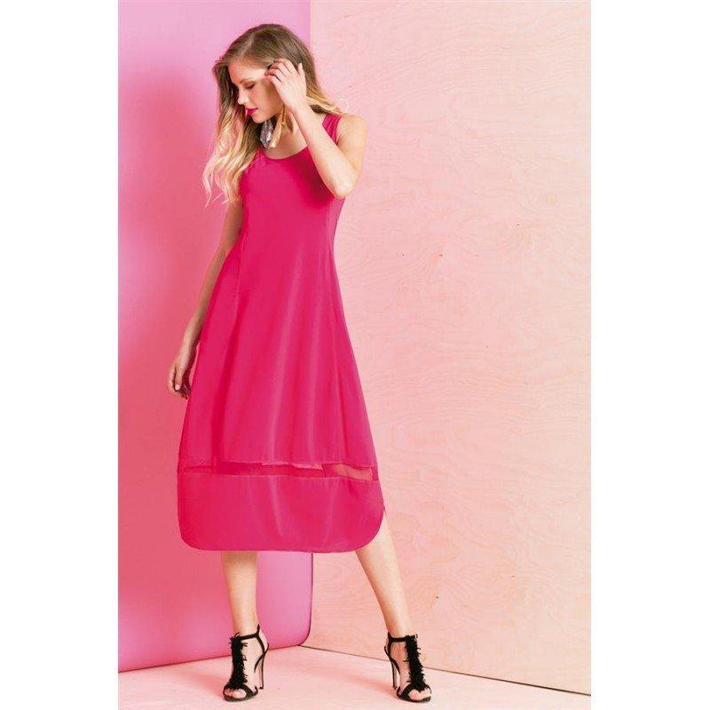 Maloka: Eye Catching Wide Hem Shift Maxi Dress SOLD OUT MK_KENZO