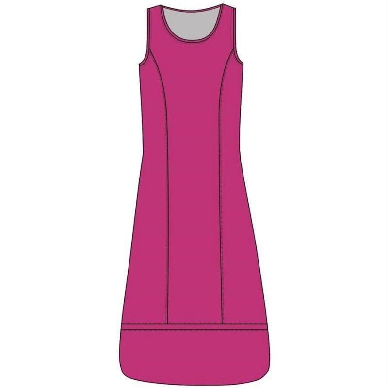Maloka: Eye Catching Wide Hem Shift Maxi Dress SOLD OUT
