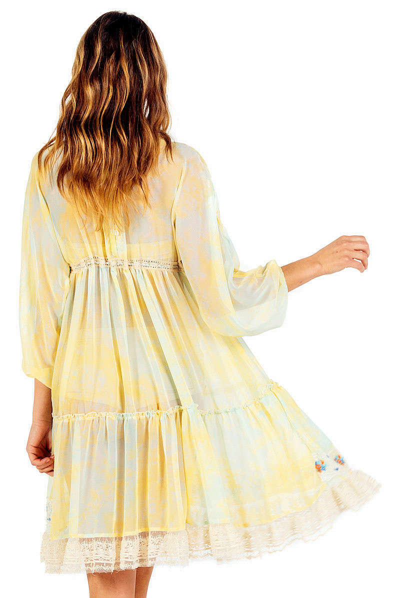 Savage Culture: So Sweet Ruffled Baby Doll Petal Dress Sicilia