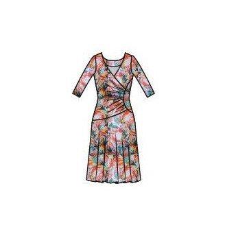 Paul Brial: Tropical Champagne Art Midi Dress