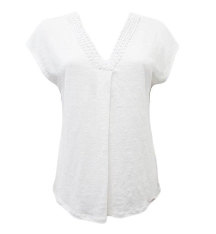 Maloka: Fit & Flare Arabesque Neck Linen Tunic (Many Colors!) MK_MINERVA