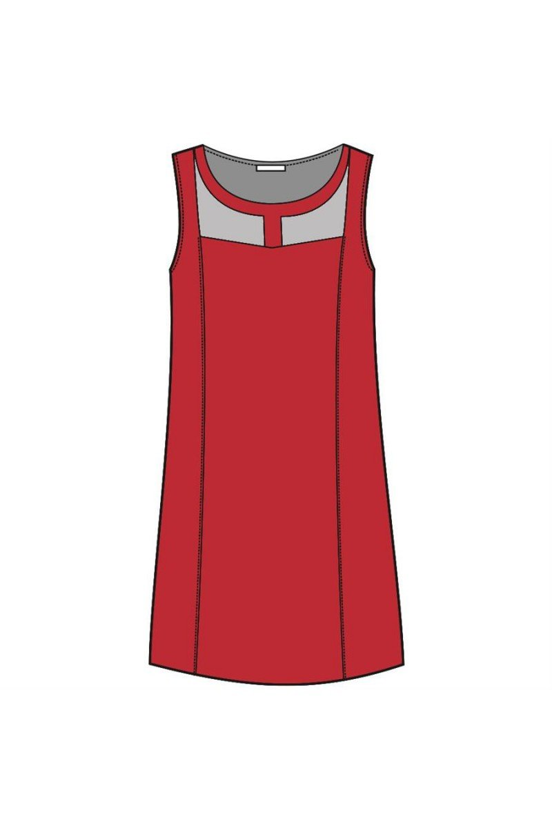 Maloka: Princess Paneled Cutout Linen Dress (More Colors!)