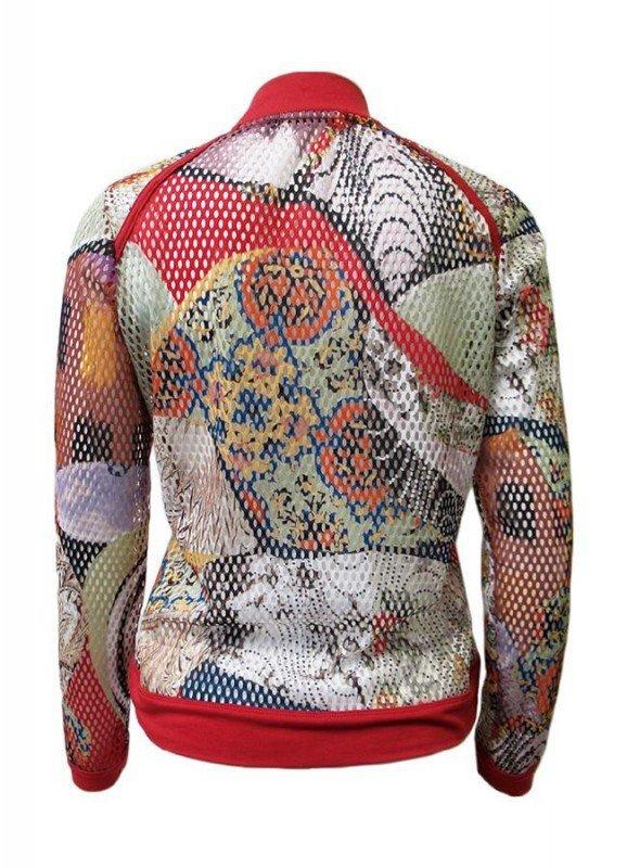 Maloka: Puzzle Abstract Art Zip Up Jacket