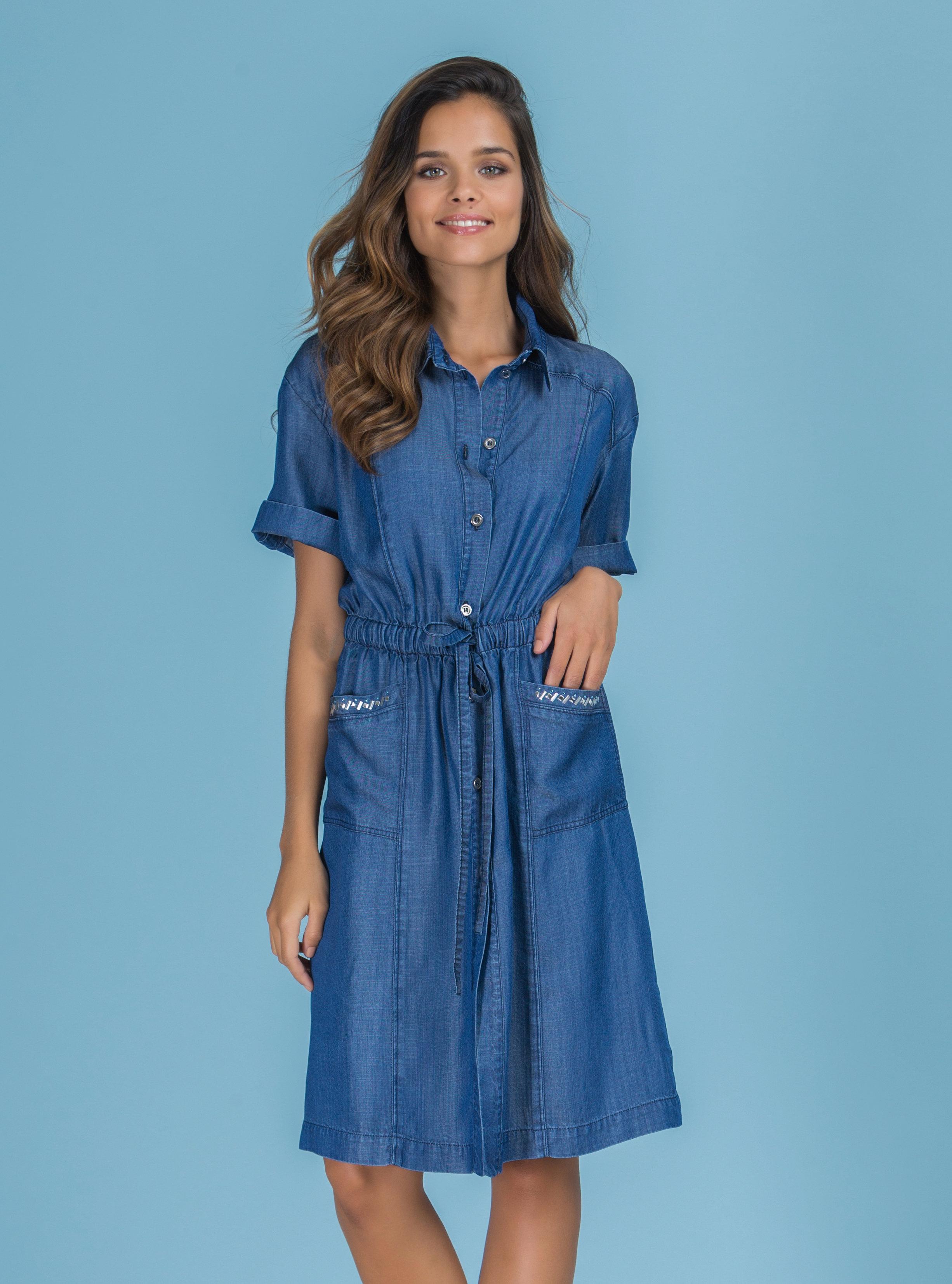 Paul Brial: Comfy Jeans In a Pocket Dress PB_SANFRANCISCO