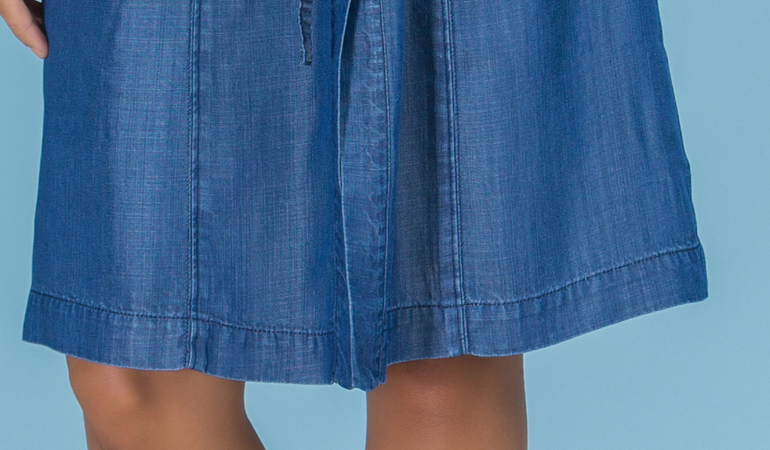 Paul Brial: Comfy Jeans In a Pocket Dress