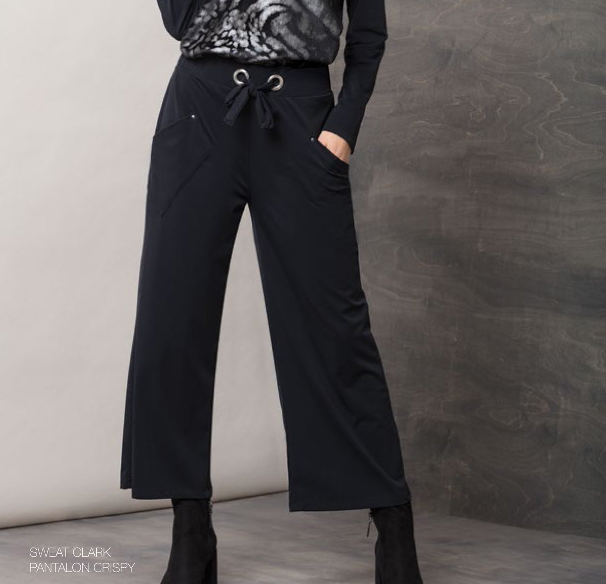 Maloka: Crisp Comfort Wide Leg Pocket Pant (More Colors!) MK_CRISPY_N