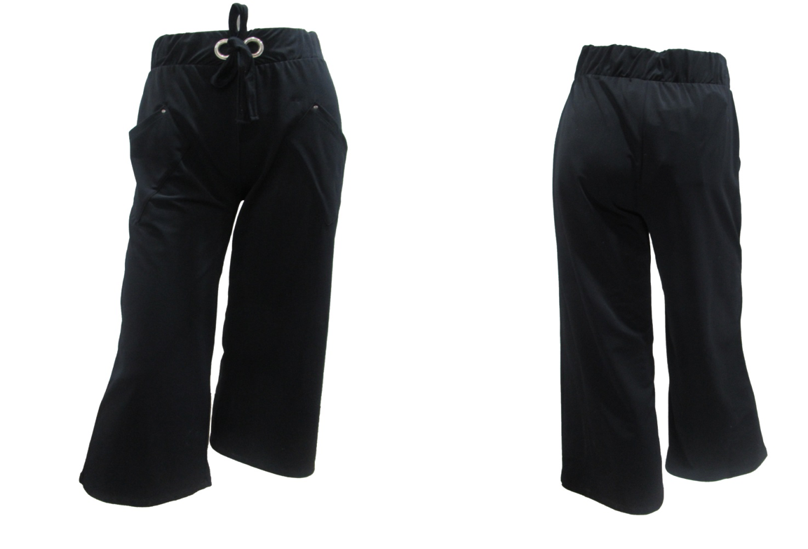 Maloka: Crisp Comfort Wide Leg Pocket Pant (More Colors!)