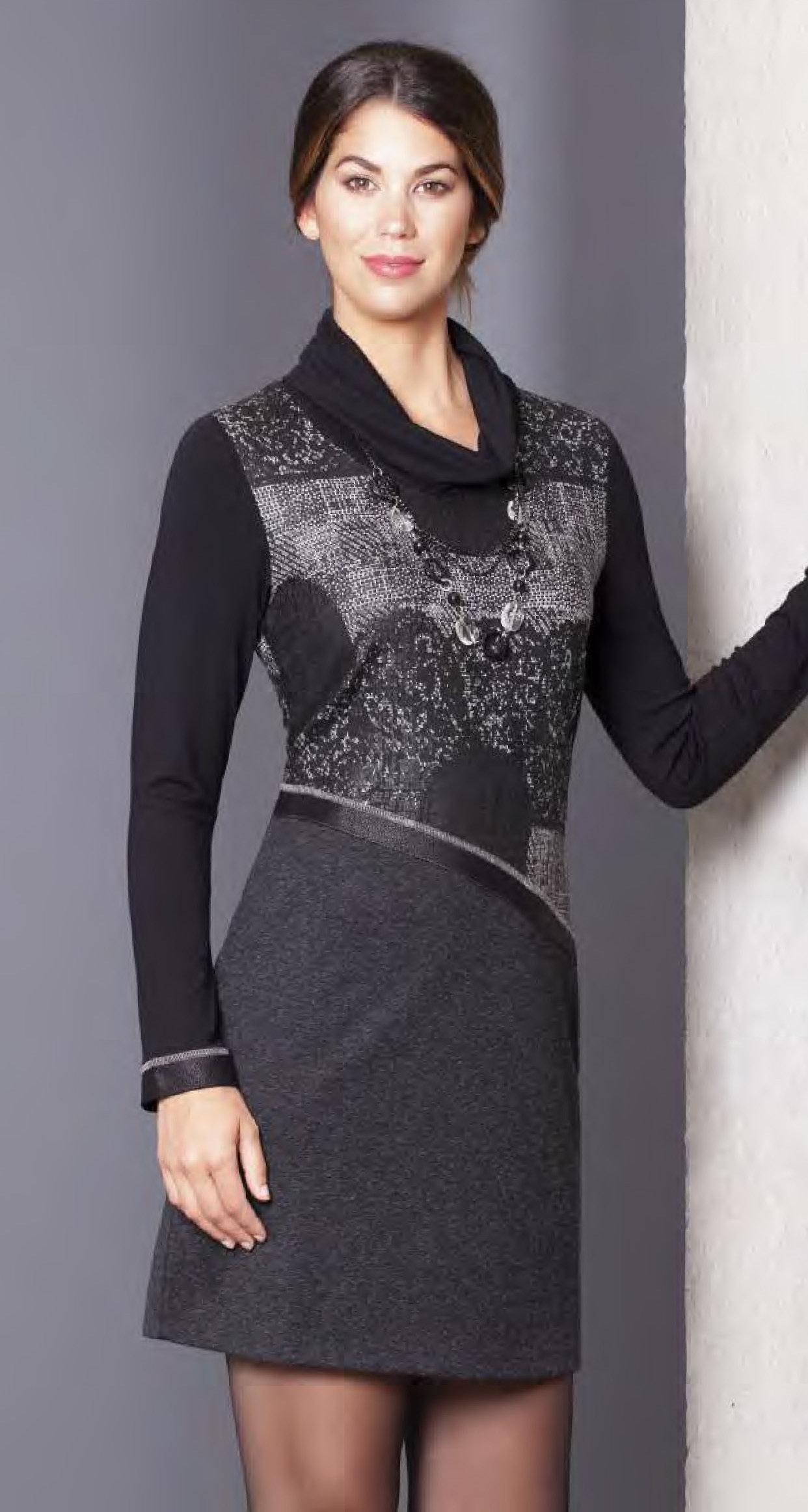 Dolcezza: Asymmetrical Ribboned Waist Dress/Tunic (1 Left!) DOLCEZZA_58105_N