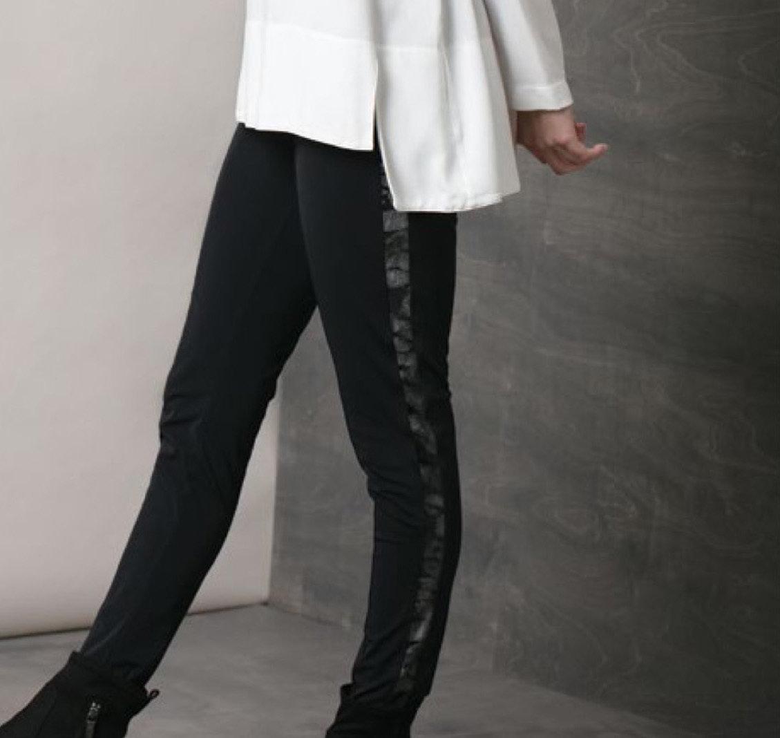 Maloka: In Love Nylon Velvet Sides Legging MK_CHARLIE