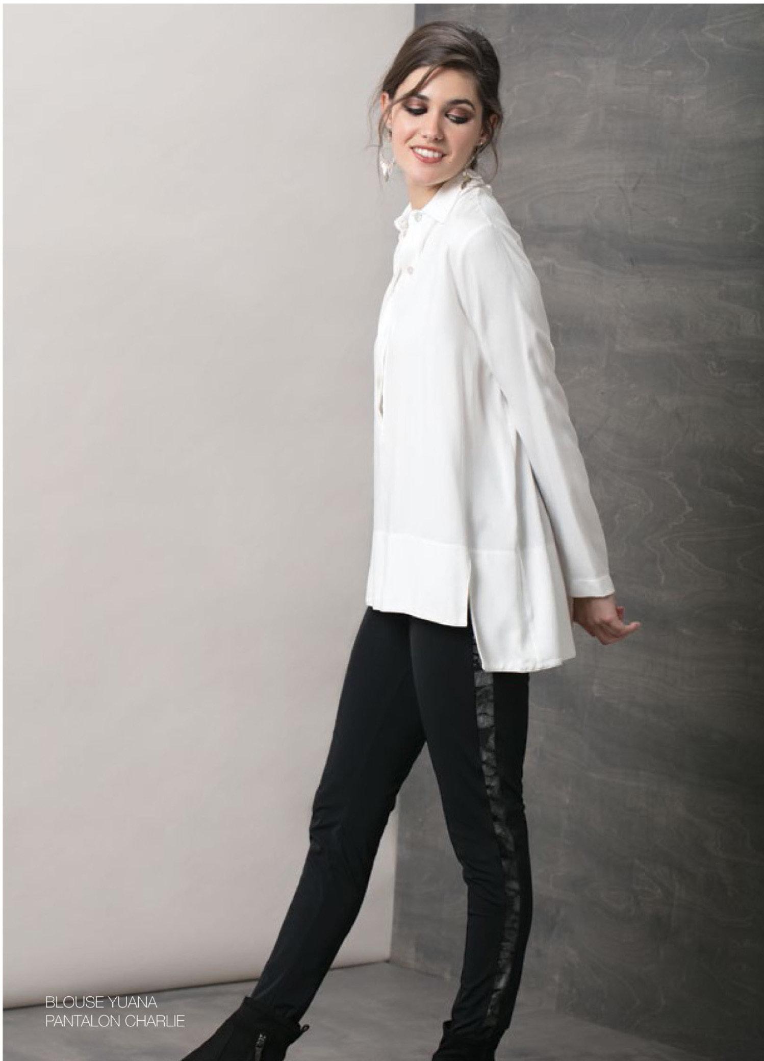 Maloka: In Love Nylon Velvet Sides Legging