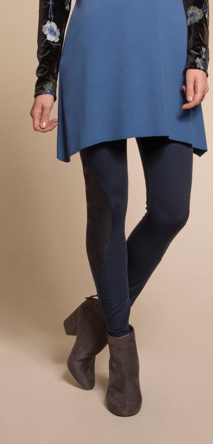 Myco Anna: Sharp Nylon Black On Black Plaid Patchwork Legging