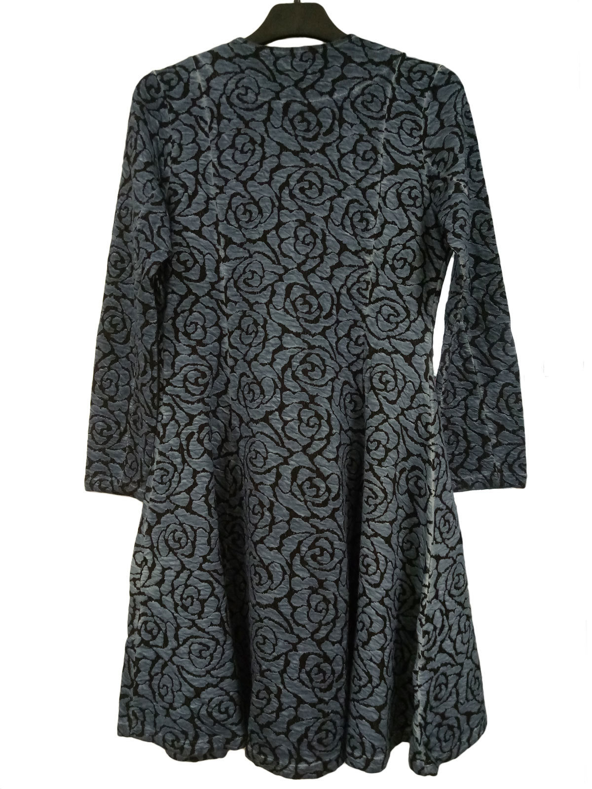 Maloka: Black Rose Fit & Flare Coat (More Colors!)