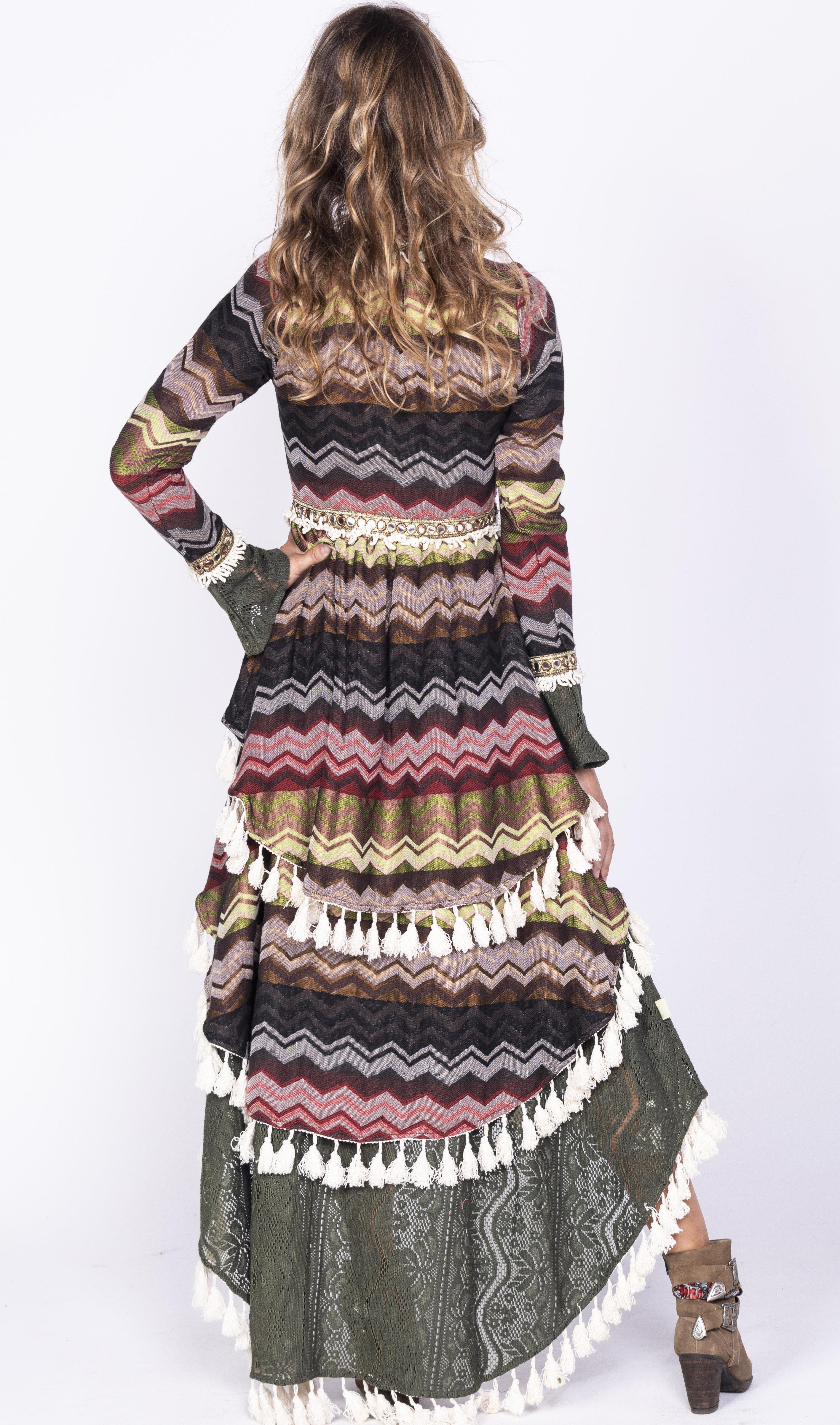 Savage Culture: Layers Of Boho Fun Dress Chambal