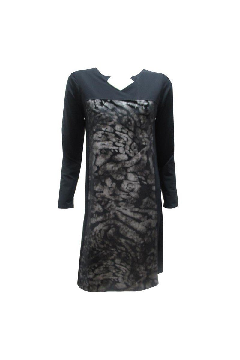 Maloka: Princess Seamed Velvet Bodice Dress