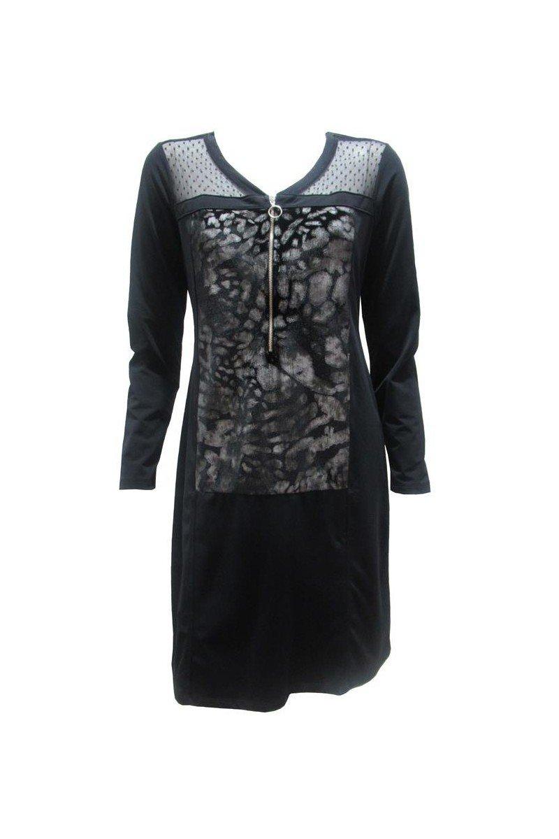 Maloka: Princess Seamed Velvet Zip Dress (Few Left!)