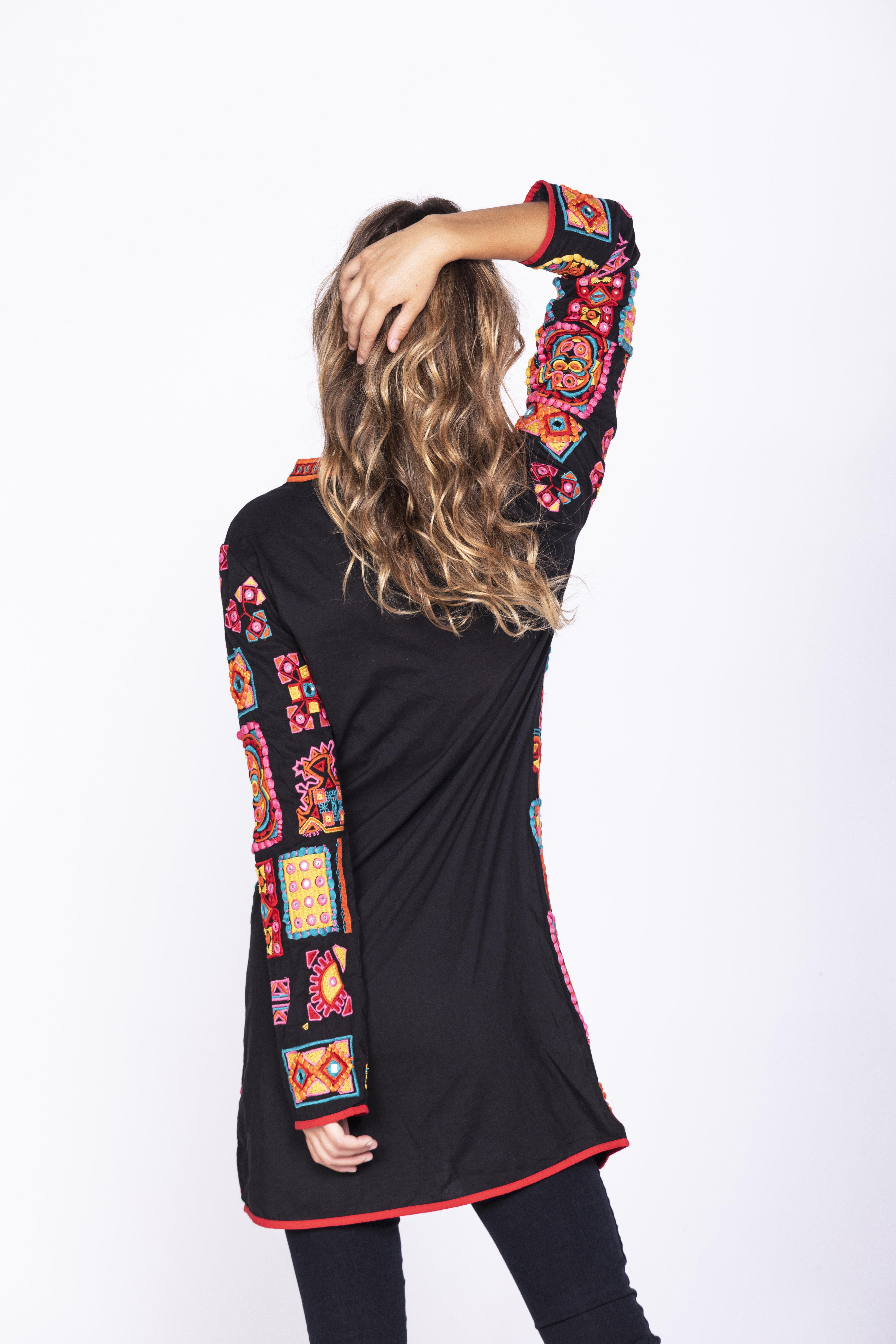 Savage Culture: Pink Sand Beach Cotton Coat Sarayu