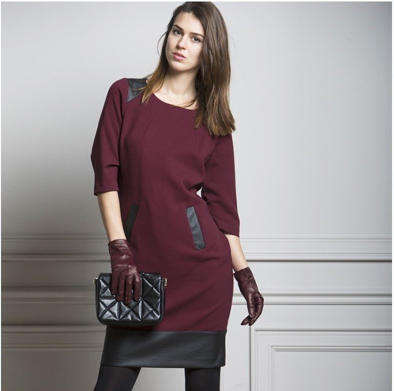 Paul Brial: Moto Midi Pocket Dress (More Colors!) PB_IMPRESSION_N