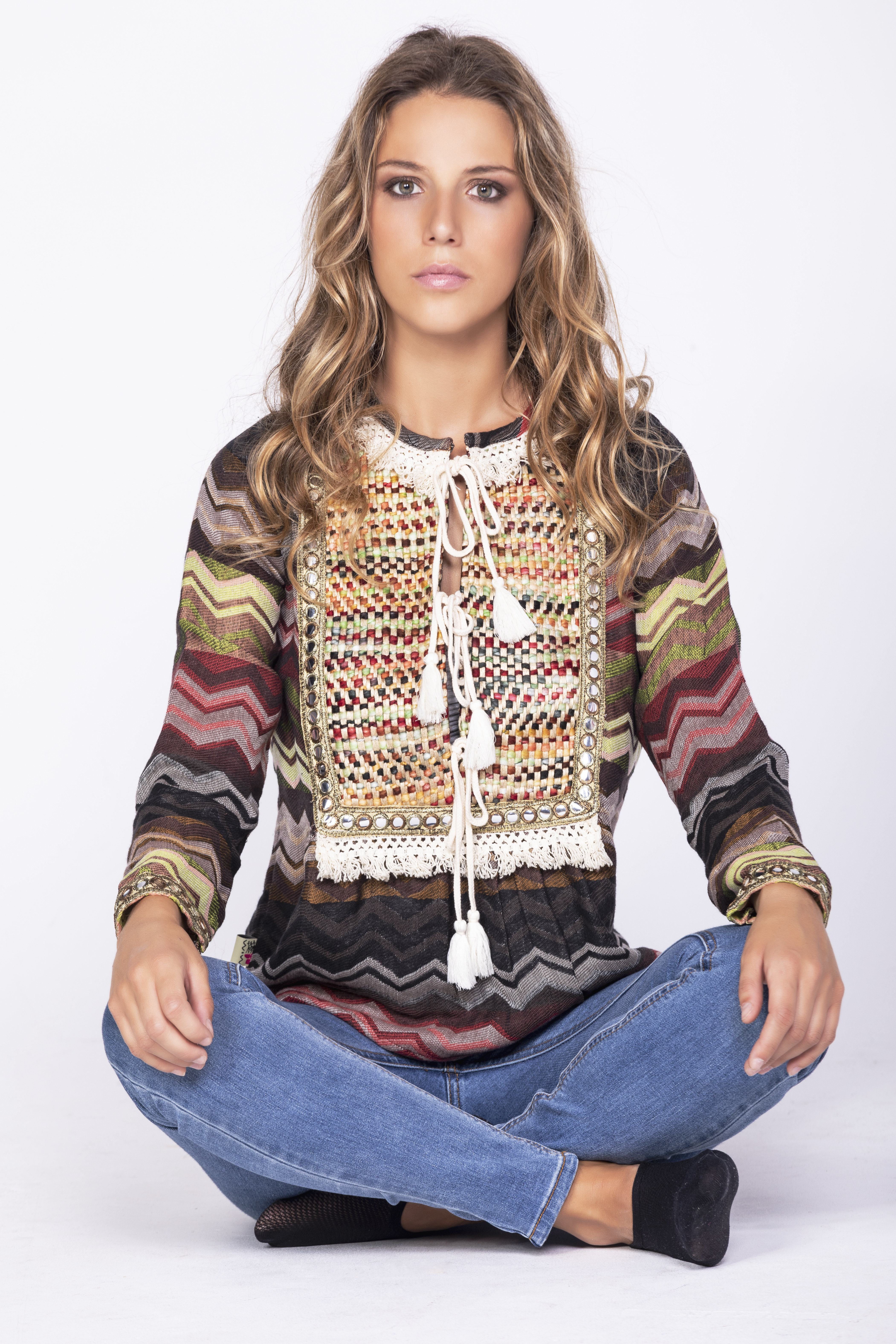 Savage Culture: Layers Of Boho Fun Tunic Chambal SAVAGE_35513