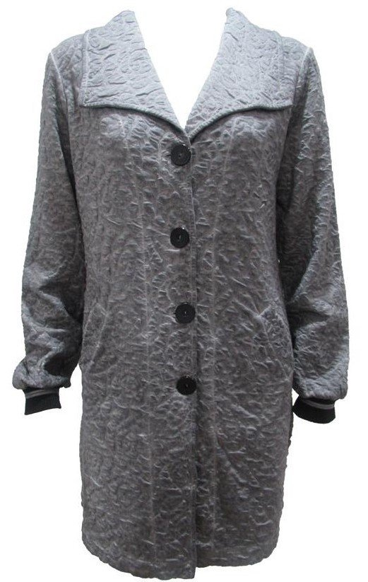 Maloka: Rose Imprinted Cotton Coat Passion (More Colors!)