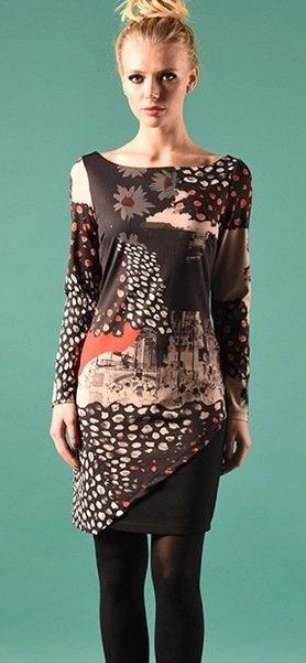 Eroke Italy: Double Cut Daisy Dress EROKE_ABE11_N2