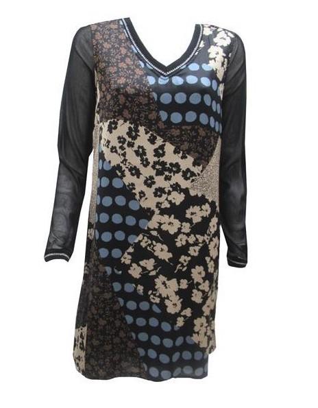 Maloka: Romantic Asymmetrical Petal Pieced Slip Dress