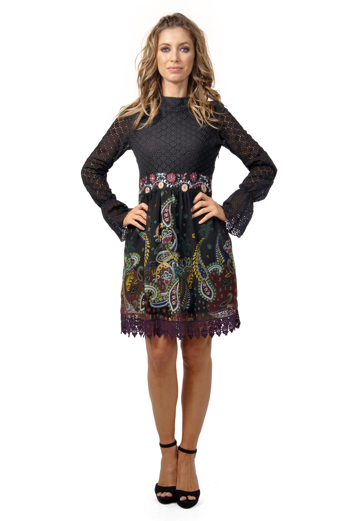Savage Culture: Lounge In Love Arabesque Dress Alicia SAVAGE_30275