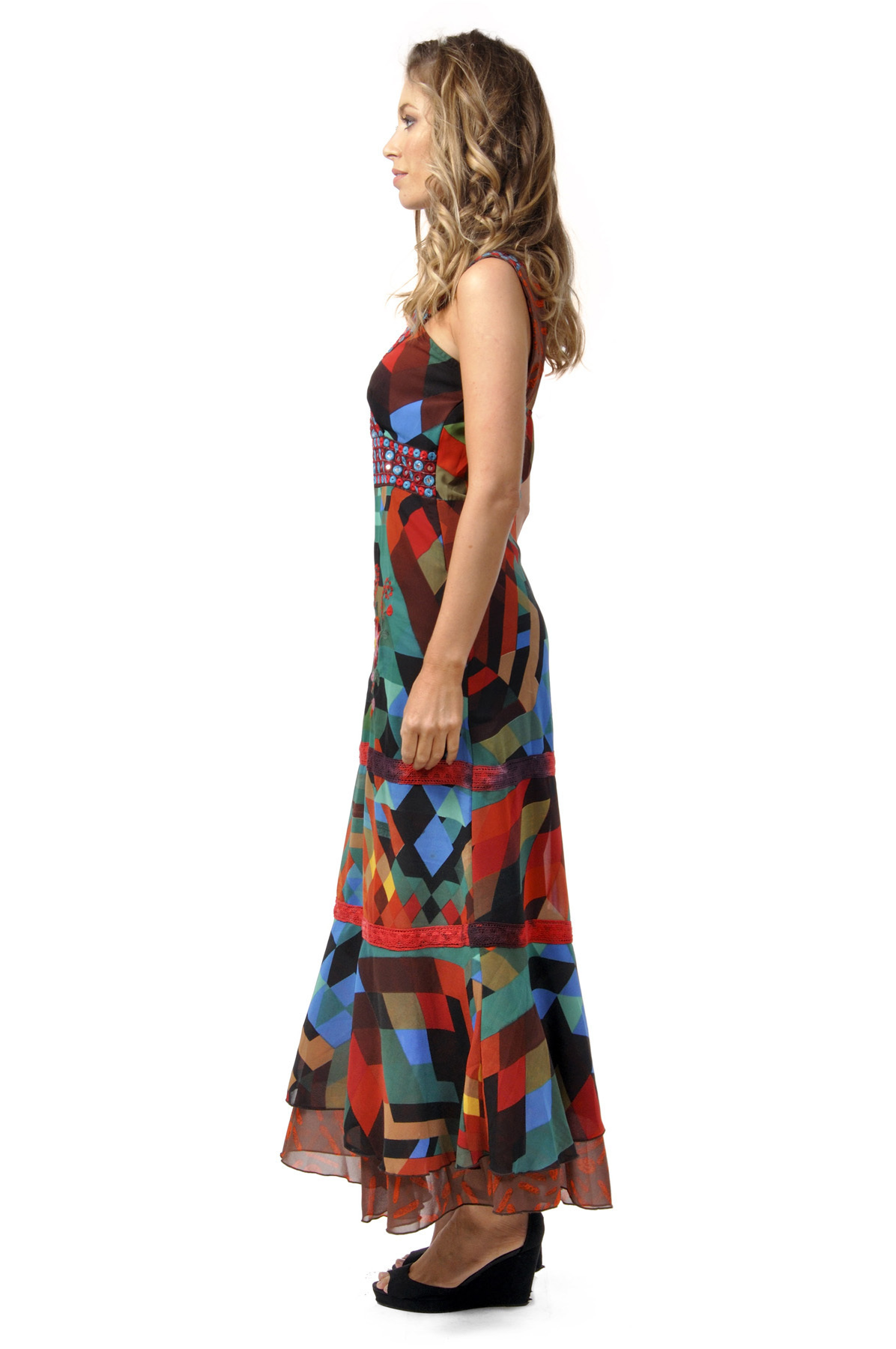 Savage Culture: Seductive Colors Silvia Maxi Dress