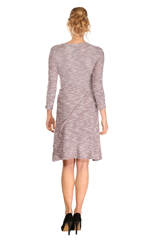 Me Paris: Pale Rose Pieced Heather Dress (1 Left!)