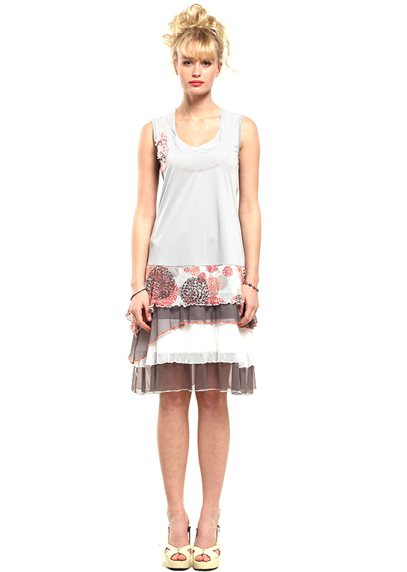 Double Jeu Paris: Luscious Sea Shells & Lace Long Tunic/Dress SOLD OUT