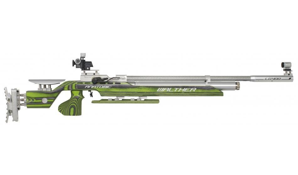 Walther LG400 Anatomic GREEN PEPPER, right, M-grip Match Air Rifle 2822440