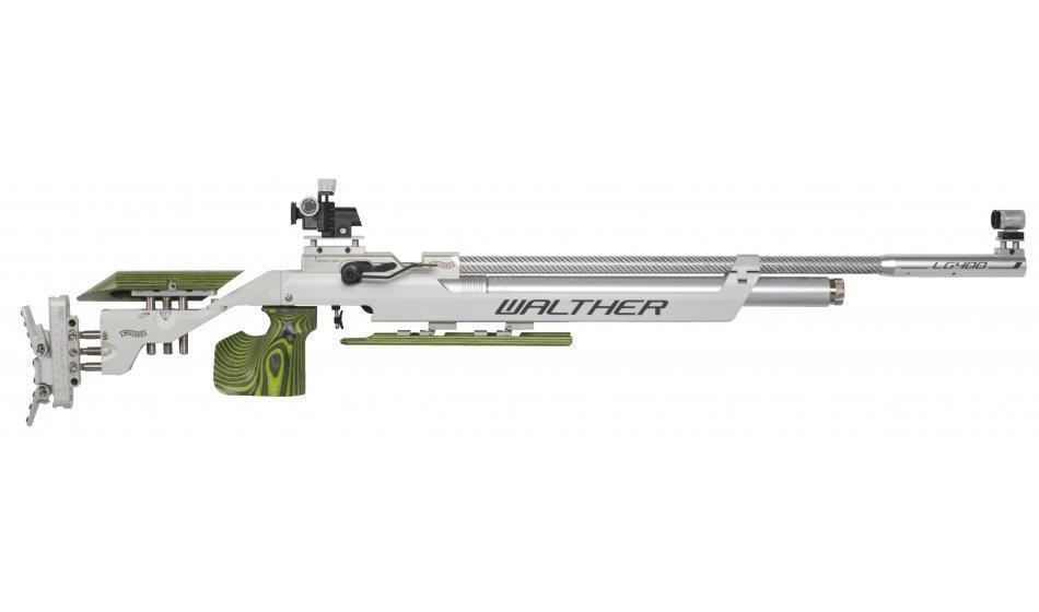 Walther LG400-M Expert GREEN PEPPER, right, M-grip Match Air Rifle 2822458