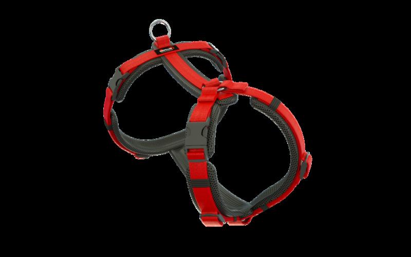 Easy schwarz-rot XL