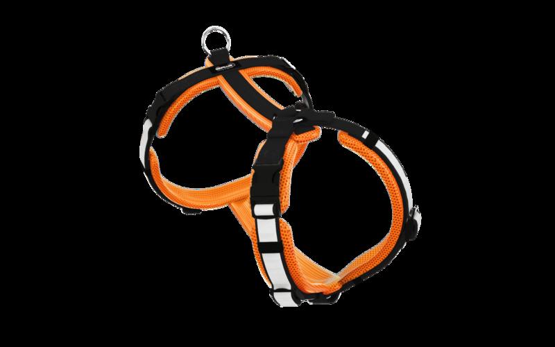 Secure Easy neonorange-schwarz L/XL