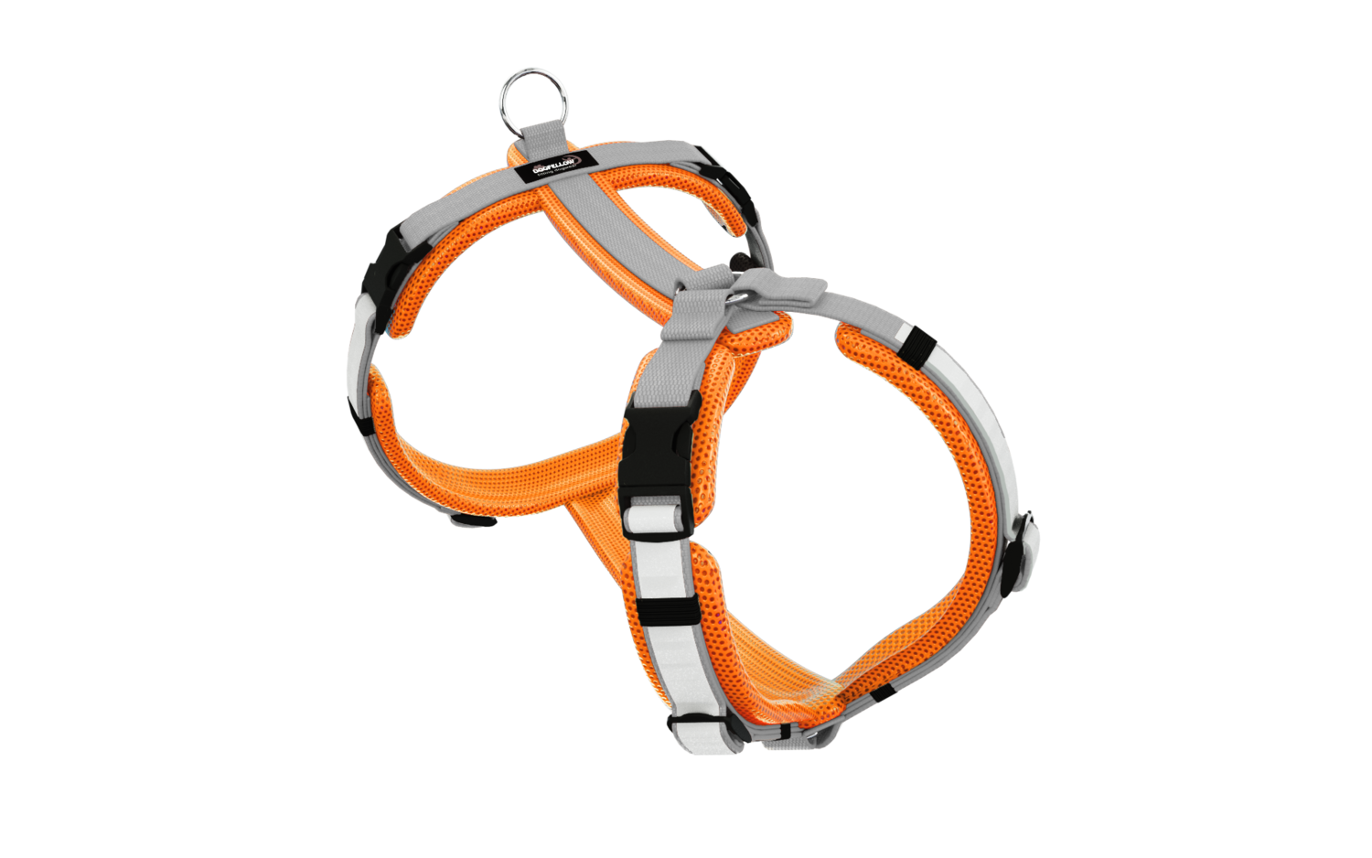 Secure Easy neonorange-silber S/M