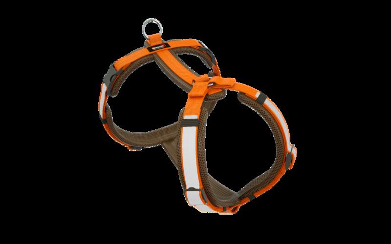 Secure Happy braun-orange L