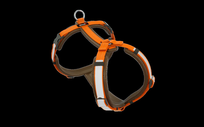 Secure Happy braun-orange M