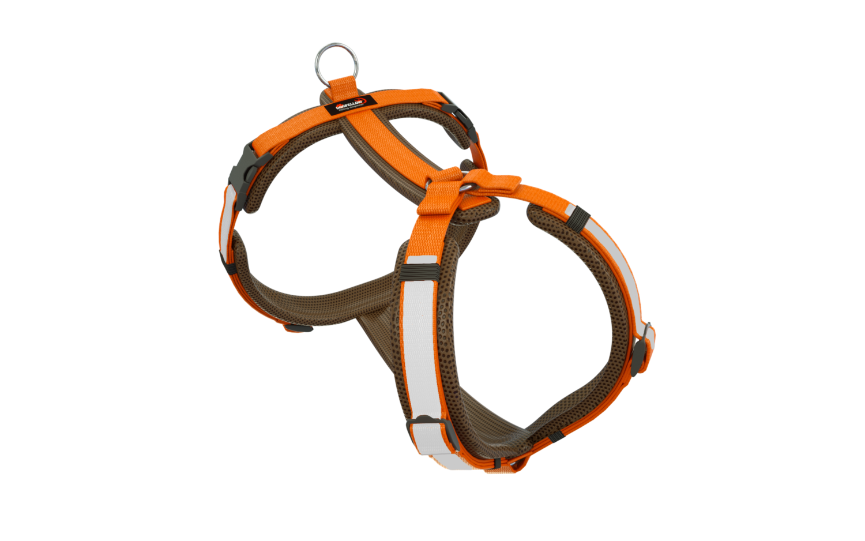 Secure Happy braun-orange M/L