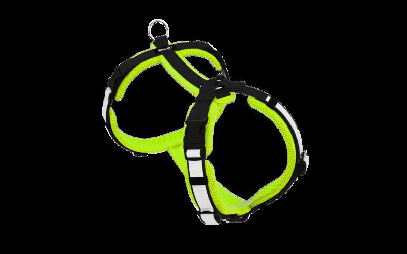 Secure Easy neongelb-schwarz L/XL
