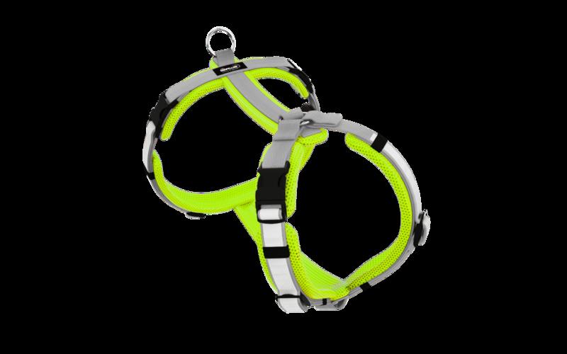 Secure Easy neongelb-silber XL