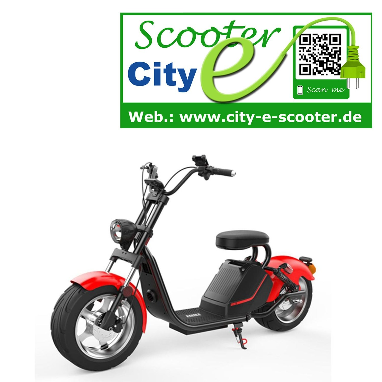 City-e-Scooter 2018 Modell HL 3.0 mit COC Farben matt