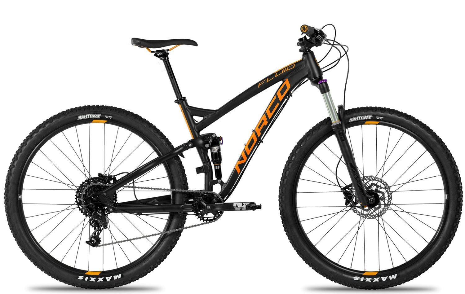 Location de vélos - Norco - Fluid FS3 - 2018 - MEDIUM