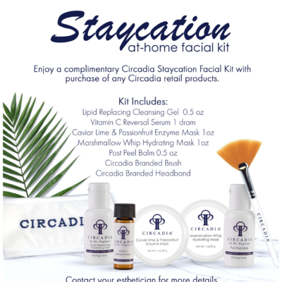 Complimentary Staycation Facial Kit